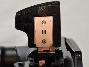 Battery/SD Card Door