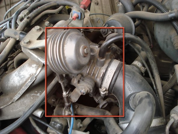 Removing 1985-1988 Volvo 740 Throttle Body