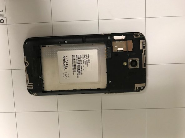 Alcatel OneTouch Elevate Rear Camera Replacement