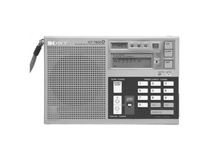 Sony Radio ICF-600D Repair