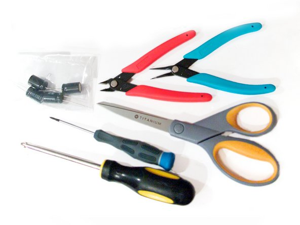 Additional suggested tools for this repair are pictured.