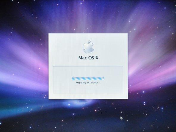 Mac OS X 10.5 Leopardのインス...