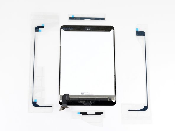 iPad Display Assembly 4 Pc. Adhesive Application