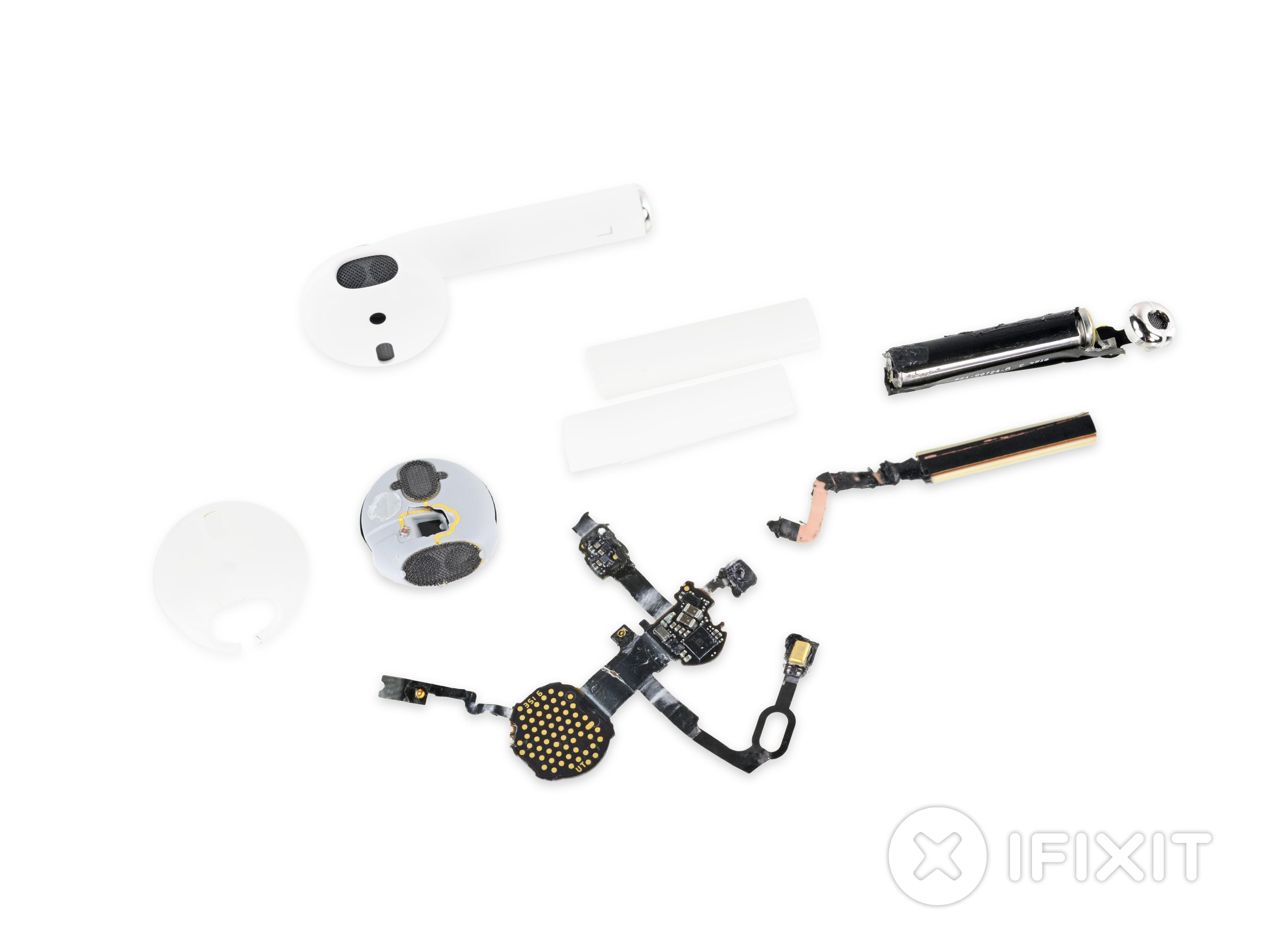 In Ear Headphone Repair Ifixit Klipsch Wiring Diagram Airpods Teardown