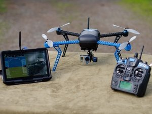 3DRobotics Iris+ Arming and GPS Lock
