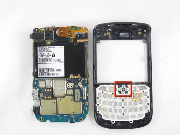 BlackBerry Tour 9630 Trackball Replacement