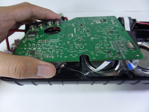 Image 2/3: Motherboard will still be attached to the device.