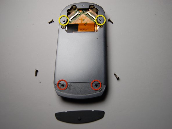 Remove the plastic cover on the back of the phone using a plastic opening tool.