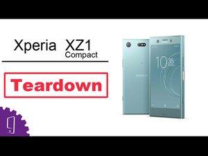 Sony Xperia XZ1 Compact Disassembly