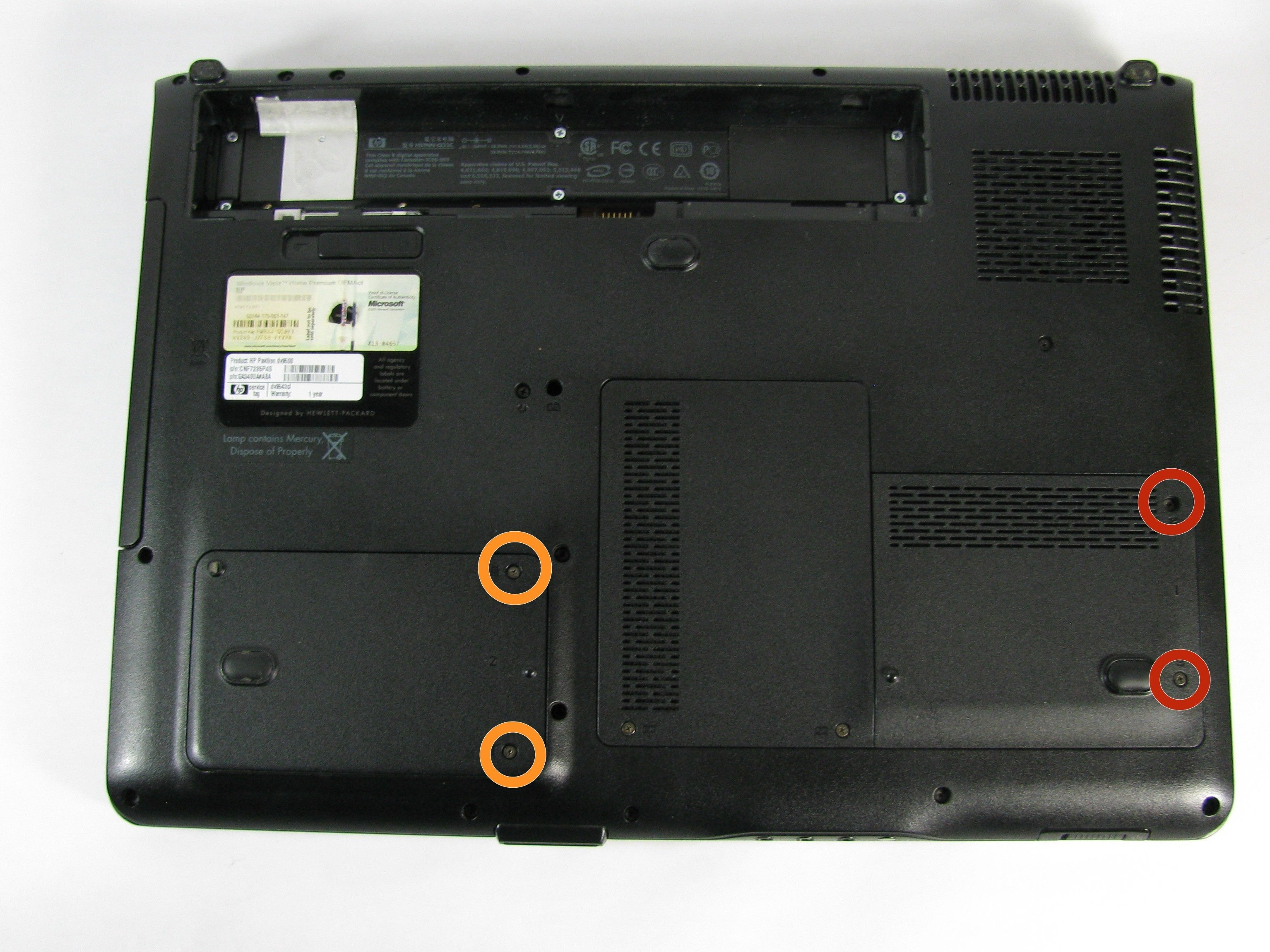 HP Pavilion dv9000 Hard Drive Replacement - iFixit Repair Guide