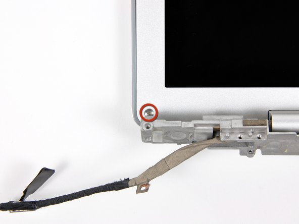 "PowerBook G4 Aluminum 12"" 867 MHz Rear Display Bezel Replacement"