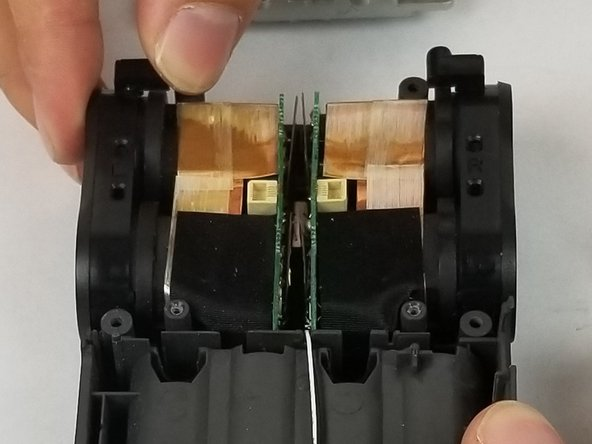 Lift the audio input jack to remove it.