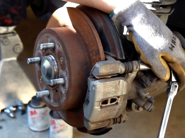 1994-2001 Acura Integra Rear Brake Pad and Rotor Replacement (1994, 1995,  1996, 1997, 1998, 1999, 2000, 2001) - iFixit Repair Guide