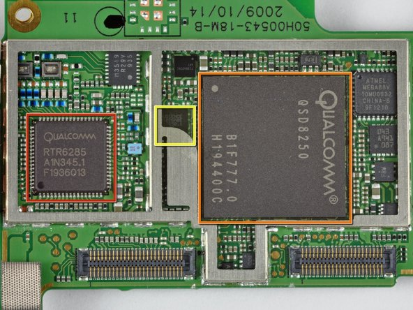 Image 1/1: Qualcomm (QCOM) appears to be the big winner on the Nexus. We've found at least three of their chips in here already.