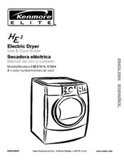 Kenmore Elite Electric Dryer Use & Care Guide