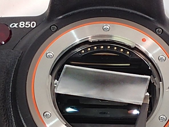 Angle the focus lens to make installation  easier.