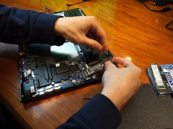 Lenovo Legion Y520-15IKBN SSD Replacement