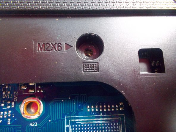Image 2/2: They are labeled with M2X6 and the image of a keyboard