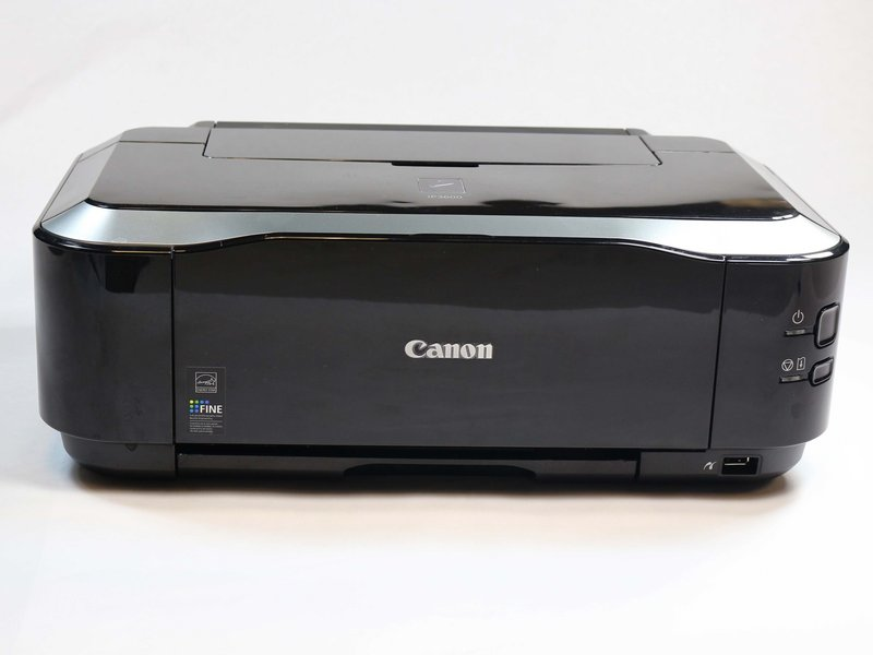 Why won't my printer turn on? - Canon PIXMA iP3600 - iFixit