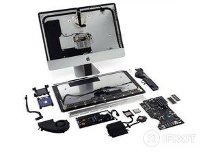 "iMac Intel 21.5"" Retina 4K Display 2017 Teardown"