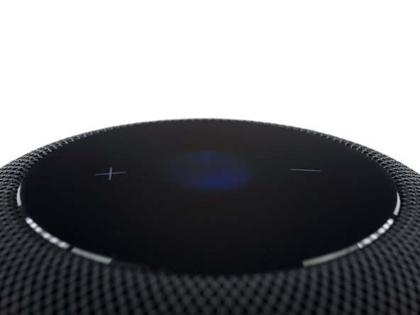 Apple engineers developed this mesh to be acoustically transparent while protecting the HomePod's insides from dust and debris.