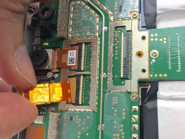 Microsoft Surface 2 Front Facing and Rear Facing Camera Replacement