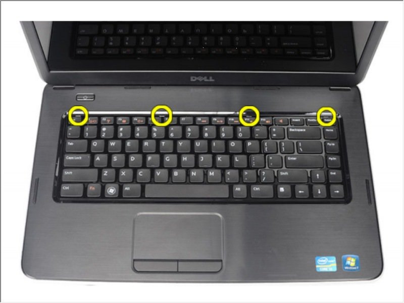 Dell Vostro 1540 Keyboard Replacement Ifixit Repair Guide