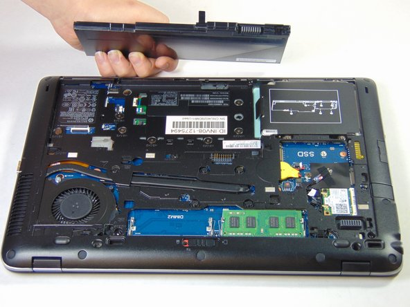 HP Elitebook 840 G1 Battery Replacement