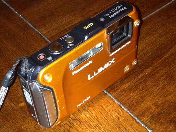 Cleaning Panasonic Lumix DMC-TS3 CCD Sensor
