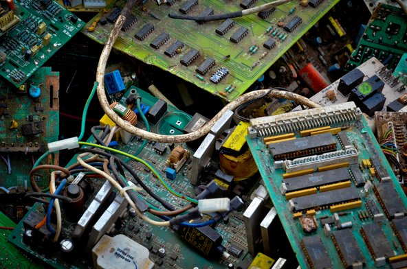 There's more gold in e-waste than in gold ore