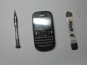 Nokia Asha 200 Teardown