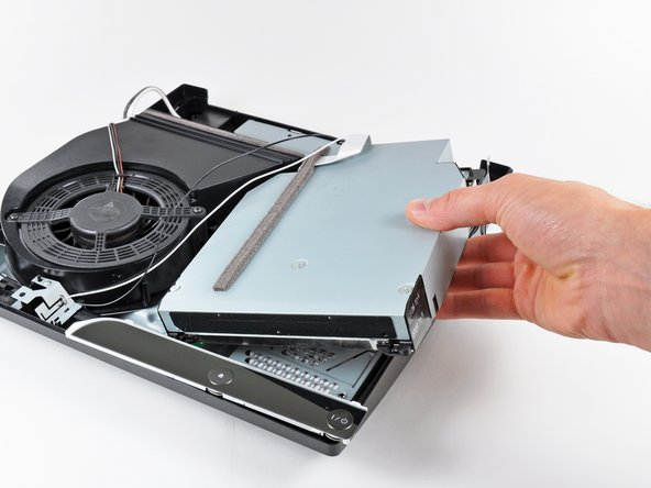 Remove the Blu-ray drive from the PS3.