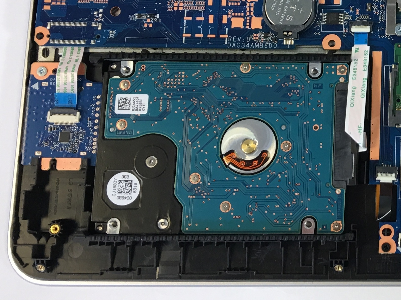 HP Pavilion 15-au123cl Hard Drive Replacement