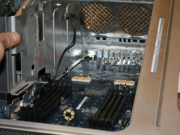 The processor holding screws are marked as yellow and have to be removed