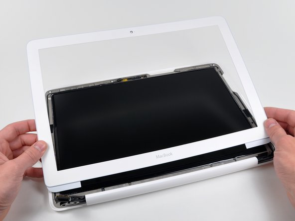 MacBook Unibody Model A1342 Front Display Bezel Replacement