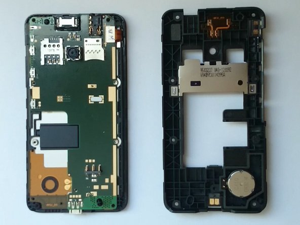 Nokia Lumia 530 Loudspeaker and Earpiece Replacement