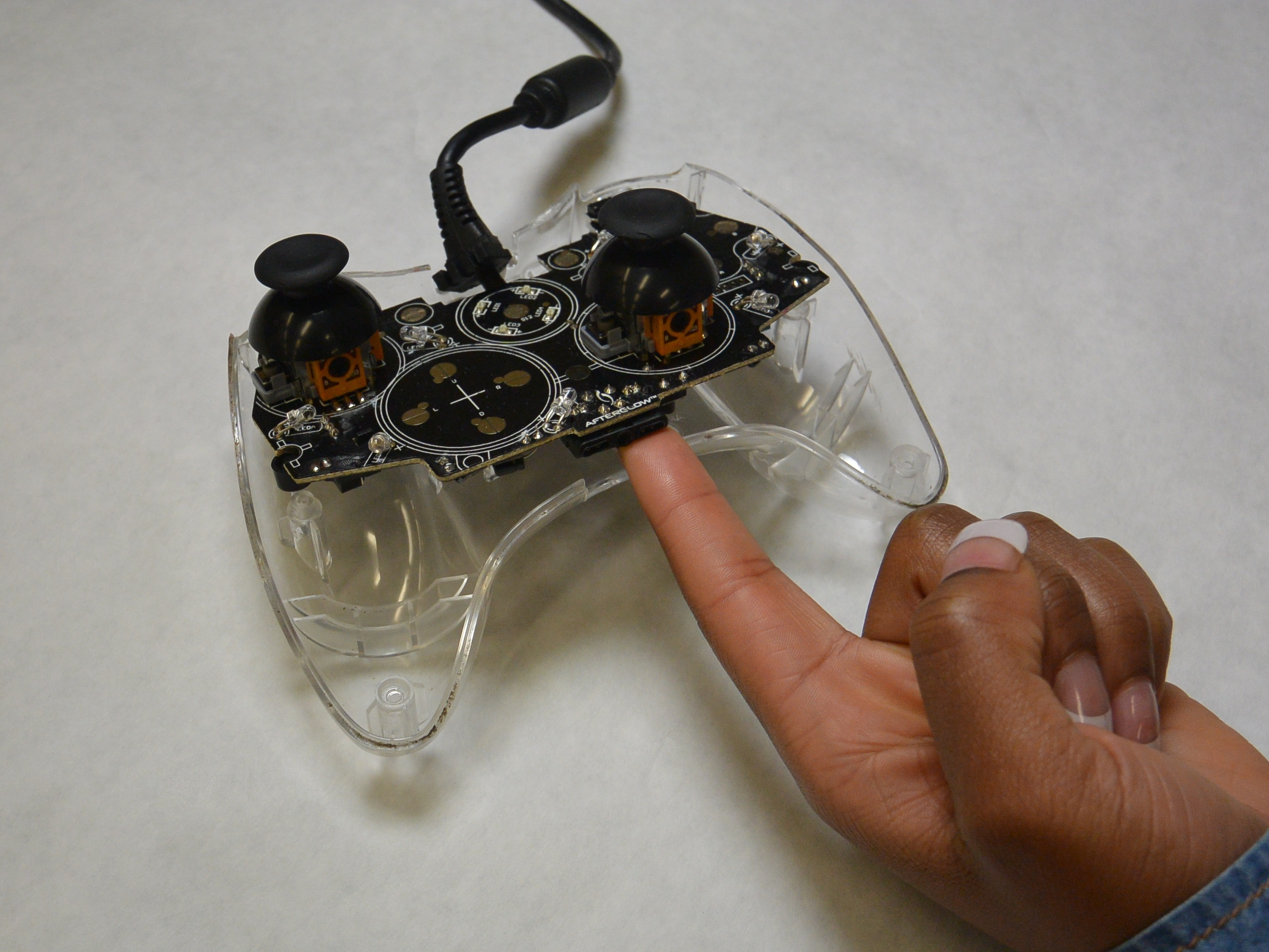 Pdp afterglow wired xbox 360 controller repair ifixit cable ccuart Gallery