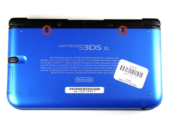 Nintendo 3DS XL Battery Replacement