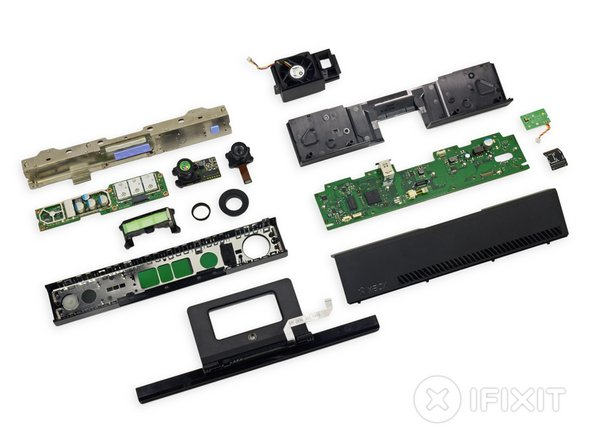 Xbox One Kinect Repairability: 6 out of 10 (10 is easiest to repair).