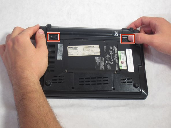 ASUS Eee PC 900HD Track Pad Replacement