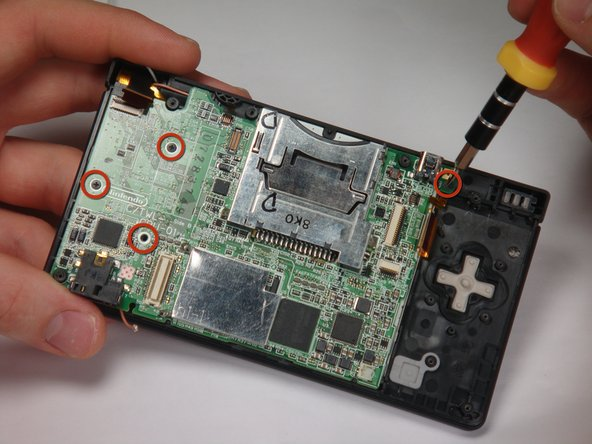Nintendo DSi Motherboard Replacement