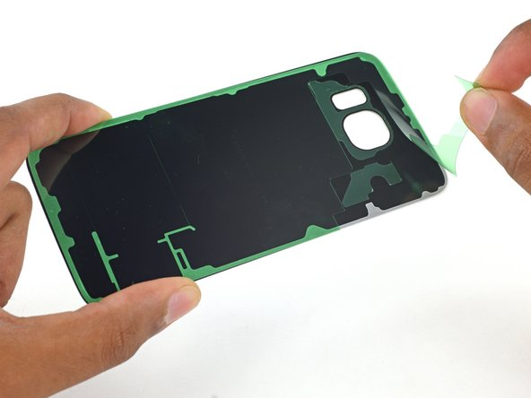 Samsung Galaxy S6 Edge Rear Glass Adhesive Replacement