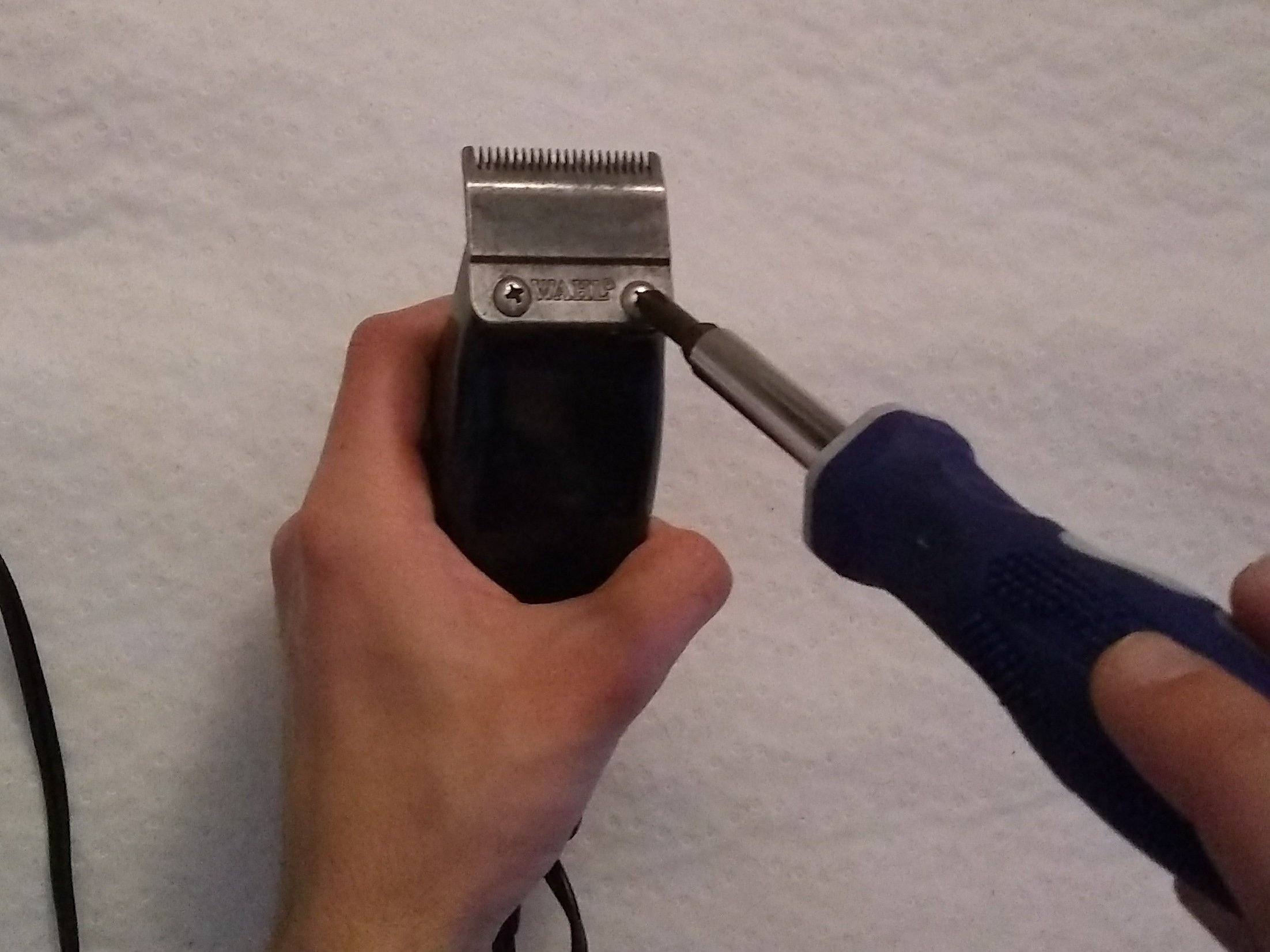 How To Clean And Sharpen Your Wahl Hair Clippers Ifixit Repair Guide