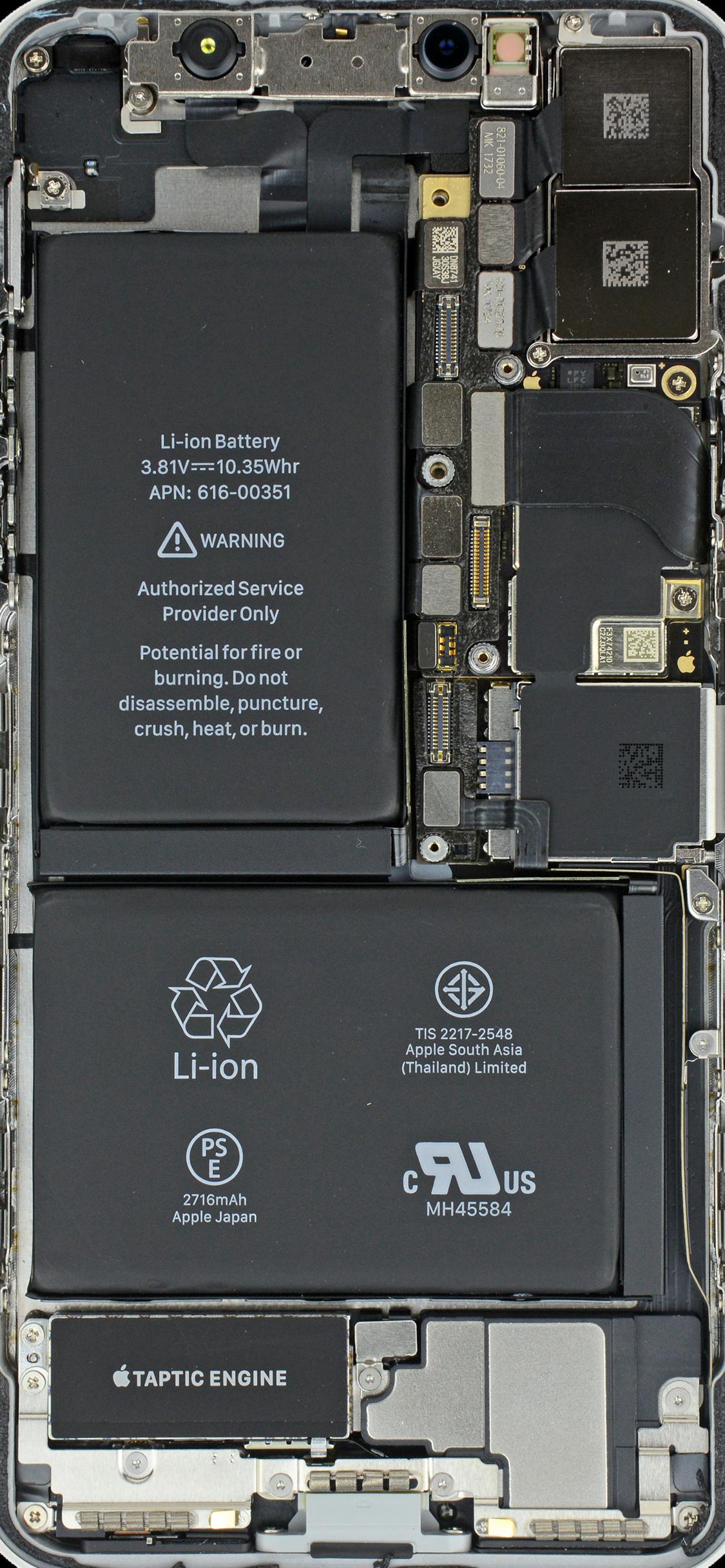 ดาวน โหลดภาพพ นหล งวงจรภายในของ Iphone X 7 6 และร นอ นๆ