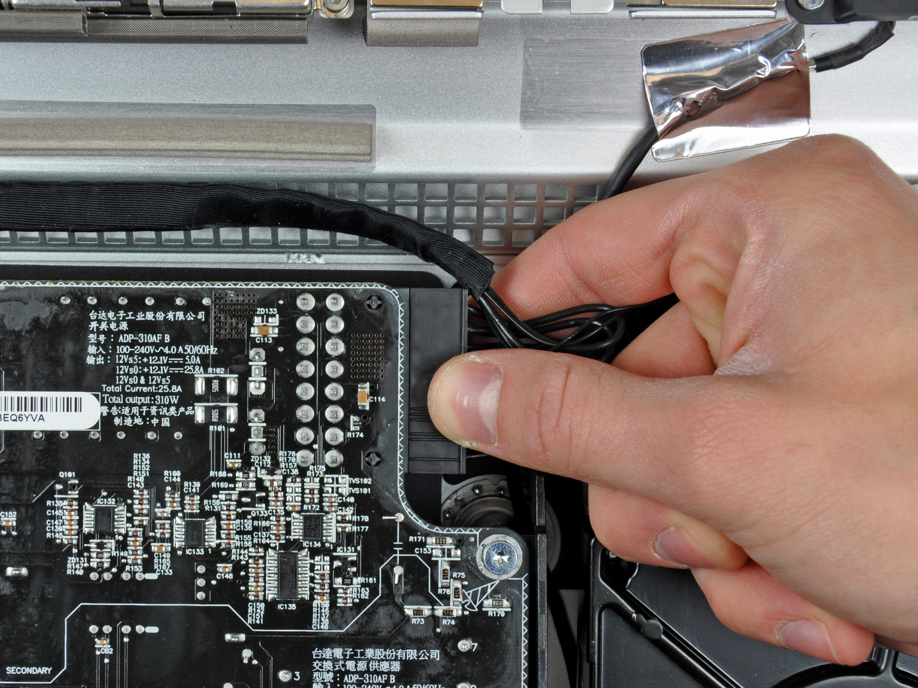 Imac Intel 27 Emc 2309 And 2374 Power Supply Replacement Ifixit Toy Carefully Look For Circuitry That You Can Bend Manipulate Repair Guide