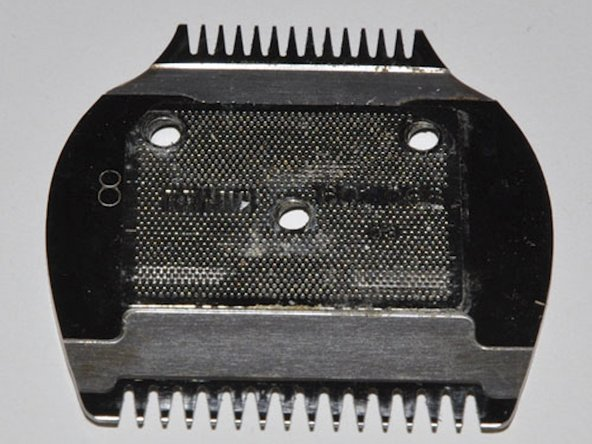 Reassembling Braun EP 100 hair-trimmer  Trimmer head