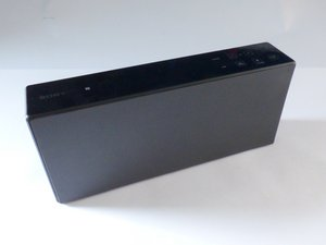 Sony SRS-X7 Faceplate Disassembly