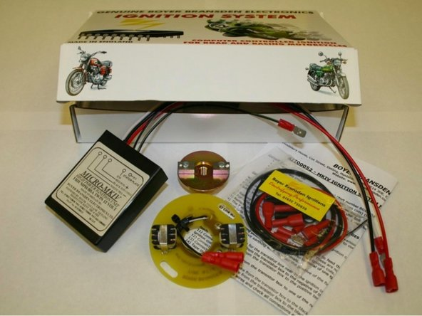 AJS/Matchless Lightweight fitting Boyer Bransden electronic ignition