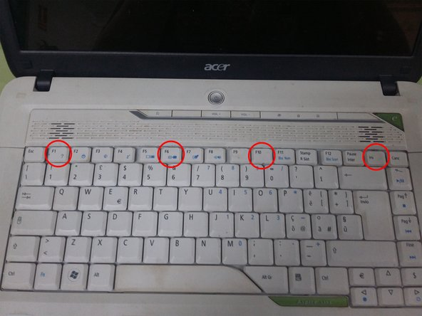 To mount the keyboard,  put the keypad and press until it clicks