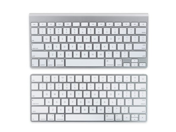 """Image 1/3: The new keyboard adopts the slightly revised layout of the [https://www.ifixit.com/Teardown/Retina+Macbook+2015+Teardown/39841